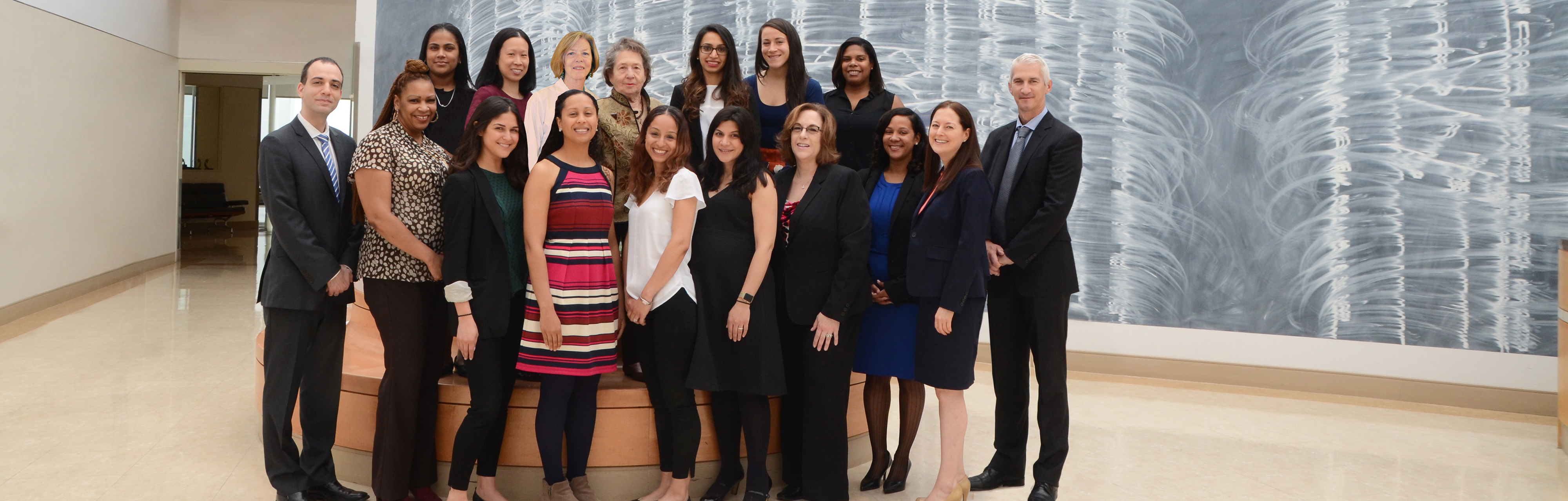 Group photo of Weill Cornell Medicine's GI Metabolic and Bariatric Surgery team