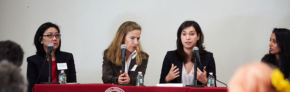 Weill Cornell Medicine physicians spoke about a wide range of topics at the Women's Health Summit, which took place at the 92nd Street Y on April 29, 2018.