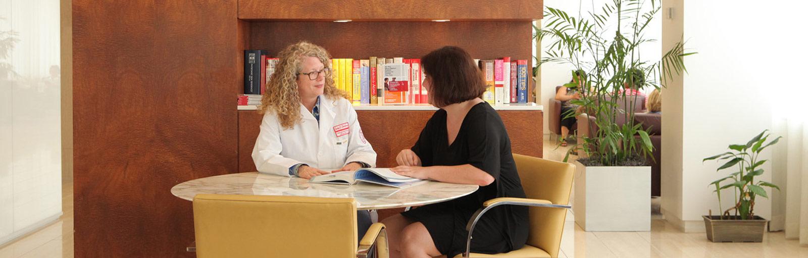 Myra Mahon Patient Resource Center