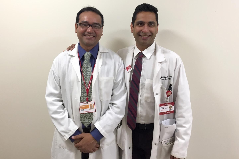 Dr. Arunangshu Das and Dr. Ashish Saxena