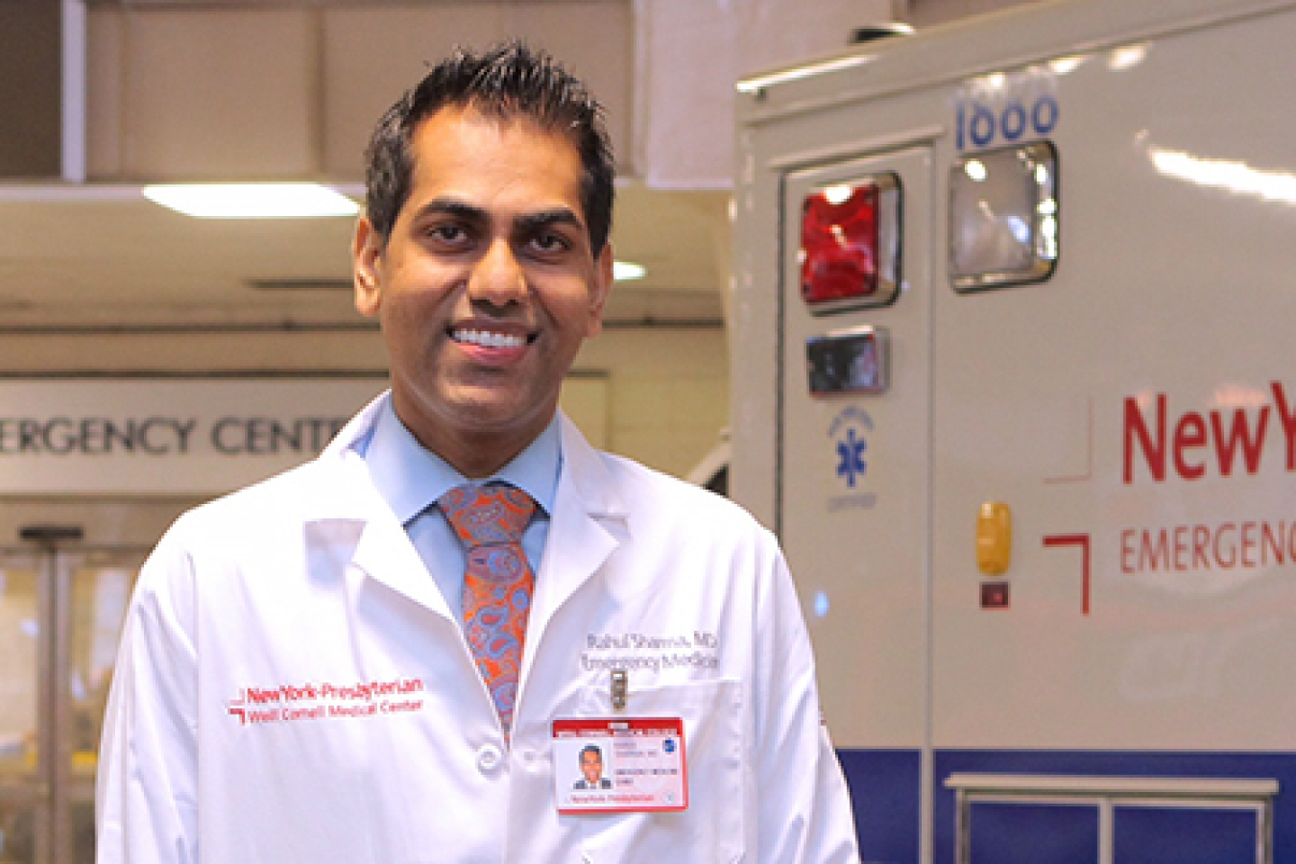 Dr  Rahul Sharma Named Top Emergency Medicine Chief at NYP Site and