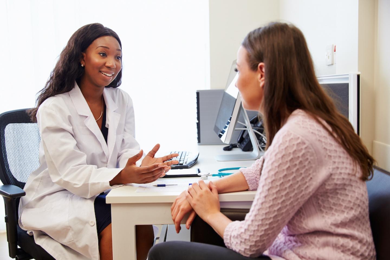 doctor and patient meet