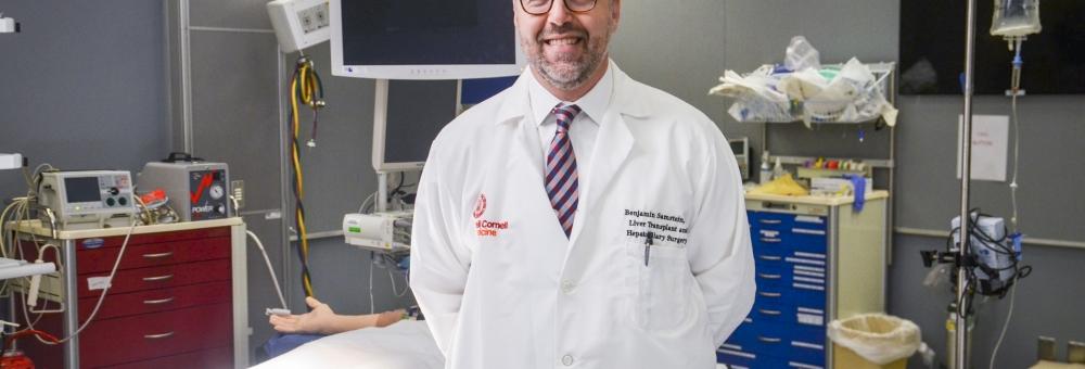 Weill Cornell Medicine's Dr. Benjamin Samstein