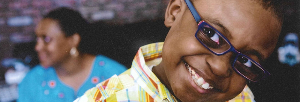 Portrait of Evan, who received a kidney transplant at Weill Cornell Medicine