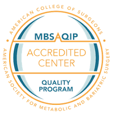 MBSAQIP Logo, demonstrating our accreditation as a comprehensive center