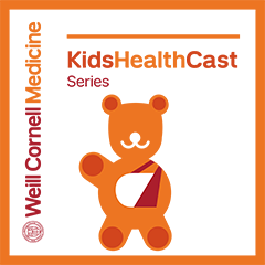 Kids Health Cast podcast logo