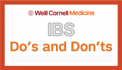 IBS Dos and donts