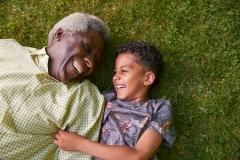 grandfather and grand child