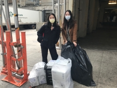 Primary Care delivering 1000 viral swabs to NewYork-Presbyterian